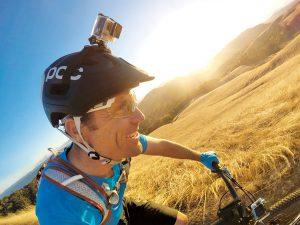 camara video bici