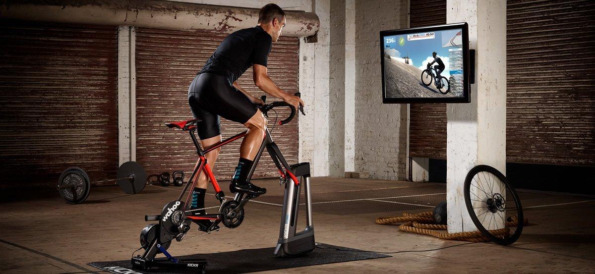 Tecnología rodillo entrenamiento virtual