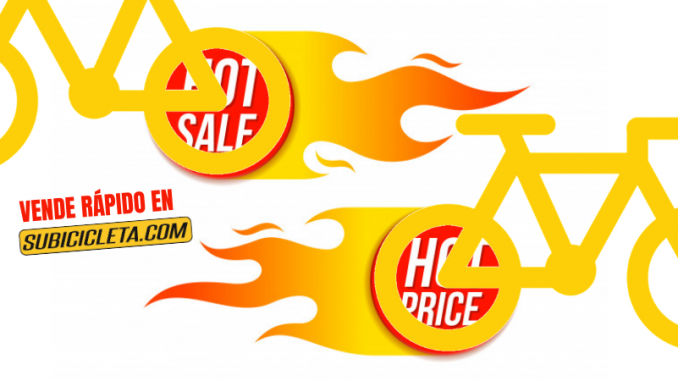 Vender a precios irresistibles en Subicicleta.com