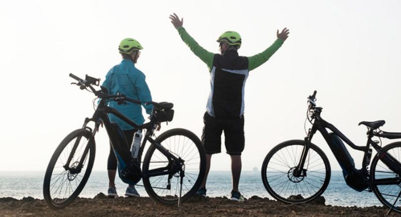 abuelos y ciclismo